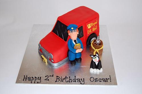 Postman Pat Cake Beautiful Birthday Cakes