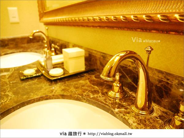【澳門住宿】澳門威尼斯人酒店~享受奢華的住宿風格!33