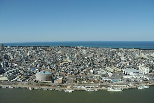 新潟の街並み