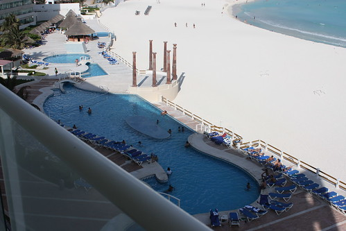 krystal cancun. View from NH Krystal, Cancun