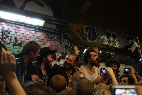 5551810149 52d360ab27 Edward Sharpe & The Magnetic Zeros live @ The Old Vic Tunnels, London