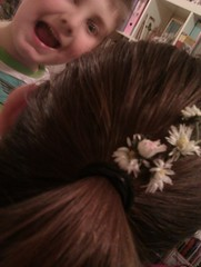 Look what joey did to my hair