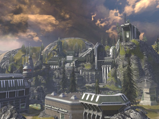 Halo Defiant Map Pack Review Reach Dlc Defiant Map Pack