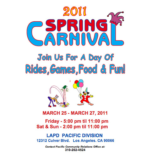 LAPD Pacific Division Spring Carnival