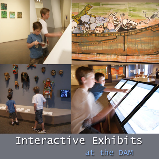 Interactive Exhibits at the DAM