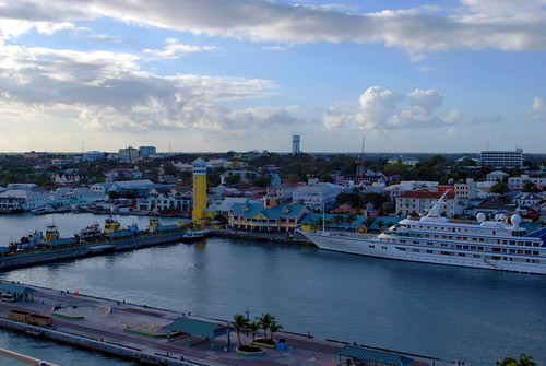 View to Nassau from the Deck