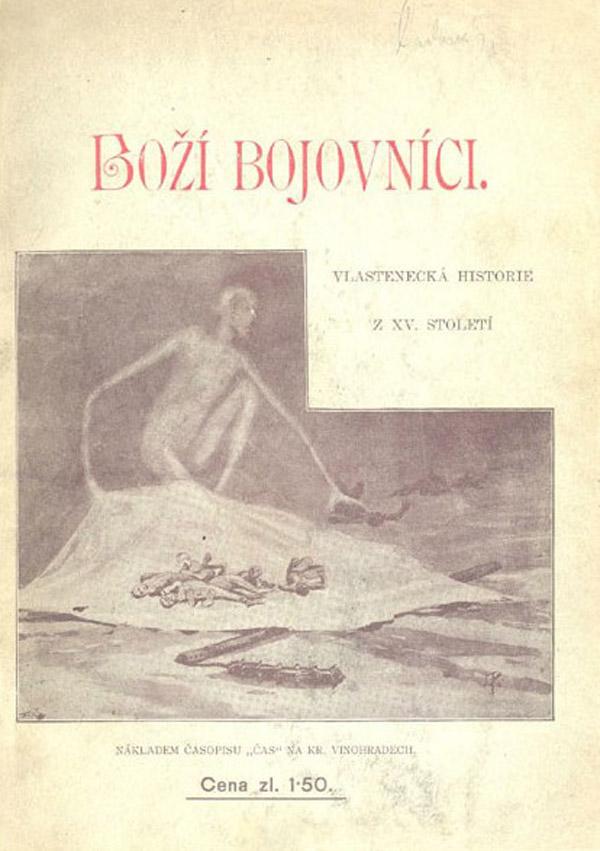 "Jaroslav Panuska - Cover for ""Boží bojovníci"" by Josef Svatopluk Machar,  1931"