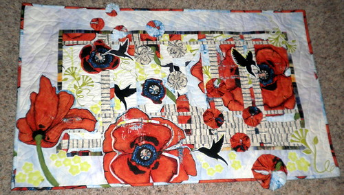 Project QUILTING - Large Scale Print - Spring Converges