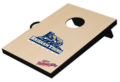 BYU Mini Cornhole Game Set