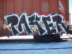 PAYER (Reckless Artist) Tags: building art minnesota graffiti midwest paint cities twin spray tc graff mn pts payer syw payup d2f colddayfun