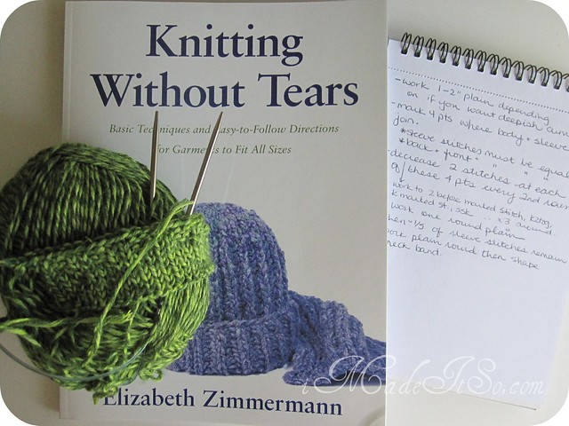 elizabeth zimmermann knitting without tears