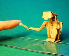 E.T. phone home origami (Matayado-titi) Tags: origami et sugamata matayado
