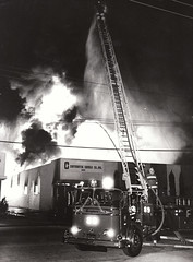 Continental Candle Co. Fire. Sylmar, CA 1977