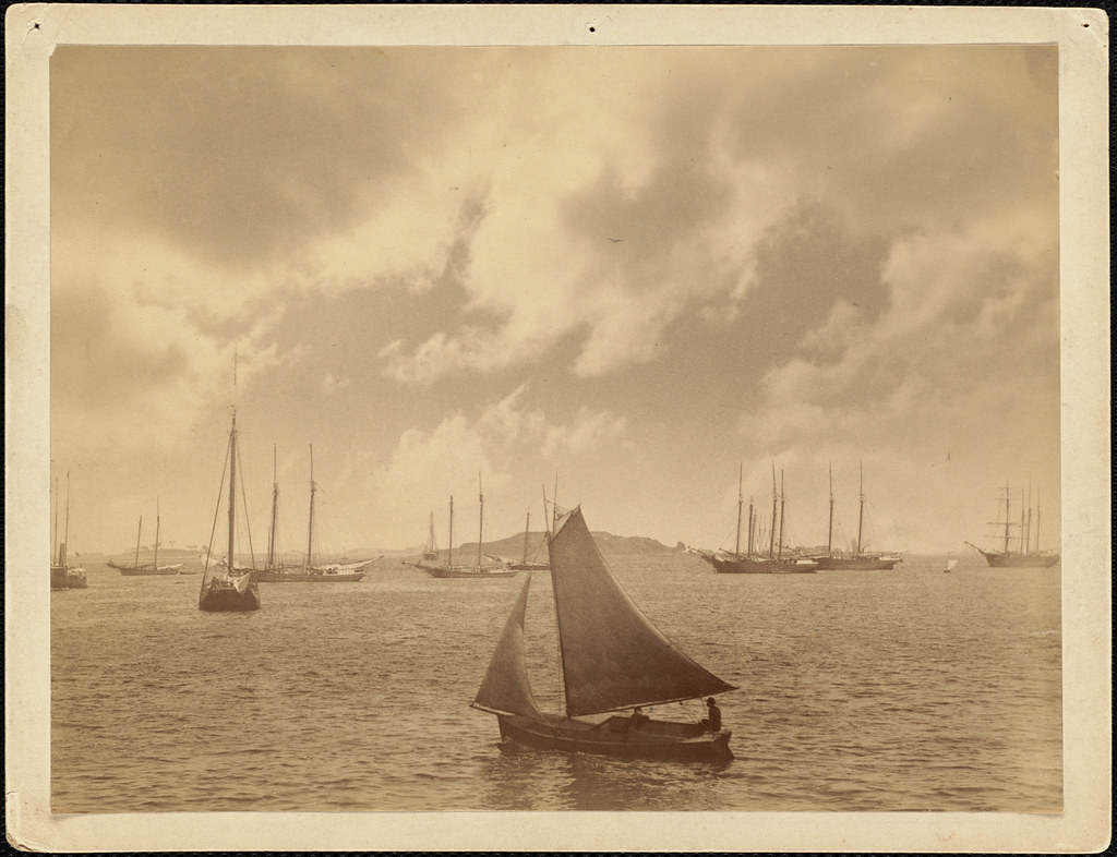 Lewis's instantaneous marine studies. No. 347, Boston Harbor, Mass.