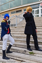 Hitman Reborn (Walter Pellegrini) Tags: portrait italy anime rome roma comics costume nikon italia cosplay manga games videogames convention fumetti cosplayer reborn fiera hitman fumetto 2011 repotage d700 mygearandme