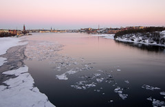 Frozen Stockholm (at sunset) (supersky77) Tags: sunset ice tramonto sweden stockholm pack sverige stoccolma ghiaccio svezia malaren scheweden