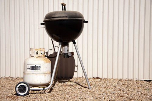 Weber's 1970 Gas Barbeque Kettle