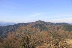 秋の陣場山からの景観