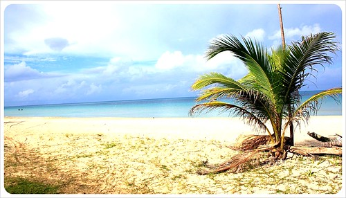 big corn island beach
