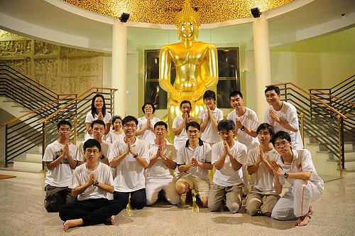 2008 vesak day 8 preceptors xianjie