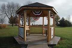 Malta Illinois Lincoln Highway Gazebo