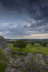 View from Beacon Hill (John__Hull) Tags: beacon hill charnwood tree leicester nikon d3200 sigma 1020mm stone wall summer cloudy sunset