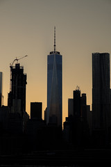 One World Trade Center (Steph.May) Tags: 2016 september usa one world trade center sunset brooklyn bridge