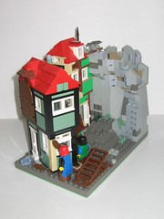 PCS_330 (Ze'Cygan) Tags: lego classic castle puzzling scapes tudor sandgreen pcs