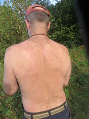 IMG_0990 (griffpops_deptford) Tags: cobham shirtlessmen menwithbeards kentchurches