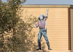 Pick_Gold_Gun_2741 (Mike Head - Jetwashphotos) Tags: prospector goldprospector goldrush history historic hardlife goldfield nv nevada desert desertsouthwest us usa america