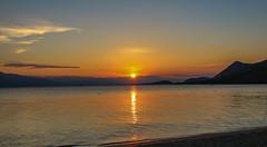 Gregliomano Aegean Sunset (Andy.Gocher) Tags: andygocher canon100d europe greece gregliomano clubmed sun sunset beach water