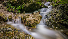 Creek in Jnokov Diery (tomas.lacika) Tags: slovakia mountains national parks tomas lacika photography nature long exposure 1000x darkens creek mala fatra janosikove diery