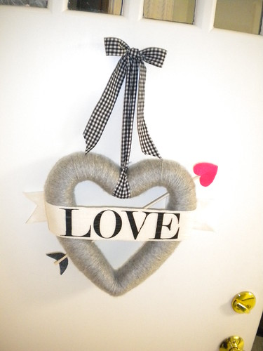 Bow Arrow Valentines Day Wreath Tutorial