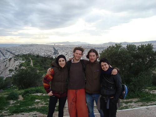 Antinea, Sylvain, Jeremie, Marianne