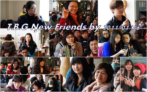 2011南區1月聚會新朋友