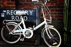 Bike on rectory road