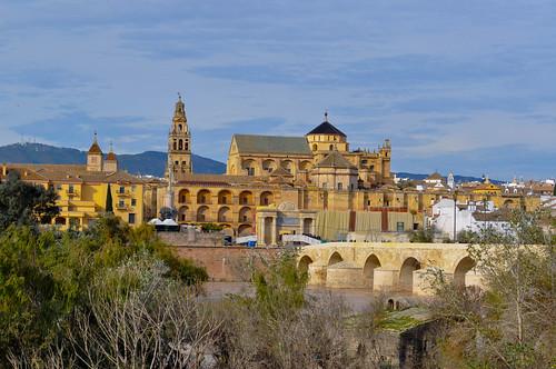 Vista de Cordoba desde el otro lado del Guadalquivir