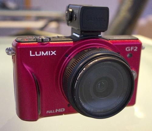 Panasonic GF2 14 mm f/2.4 Pancake lens.