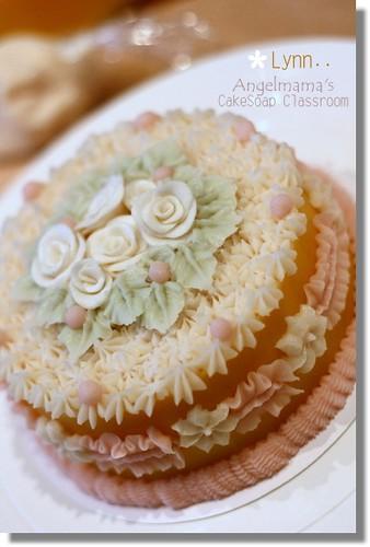 天使媽媽蛋糕皂教學Lynn1