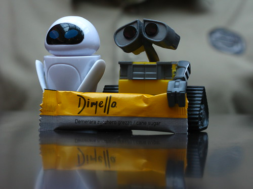 Eve and Wall-E could star in a commercial