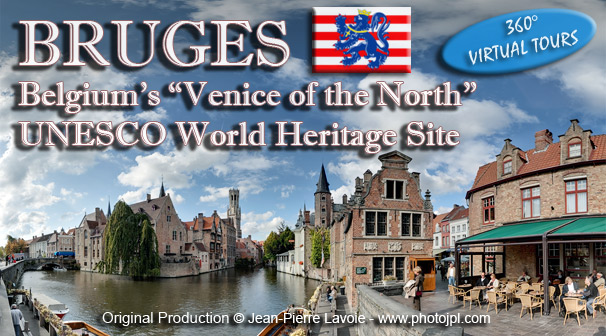 Bruges Virtual Tours