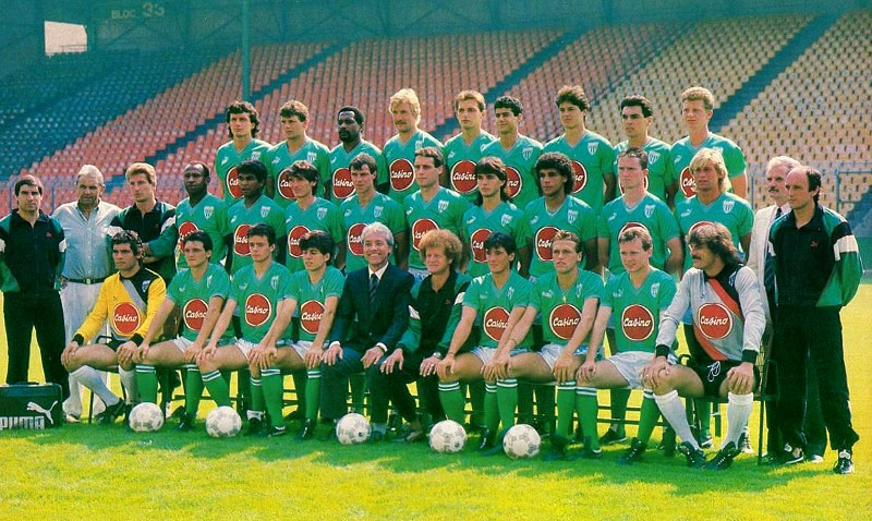 Saint-Etienne 1987-88