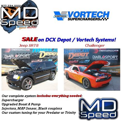 Vortech Supercharger Challenger Srt8: Supercharger Super Sale At DCX Depot!