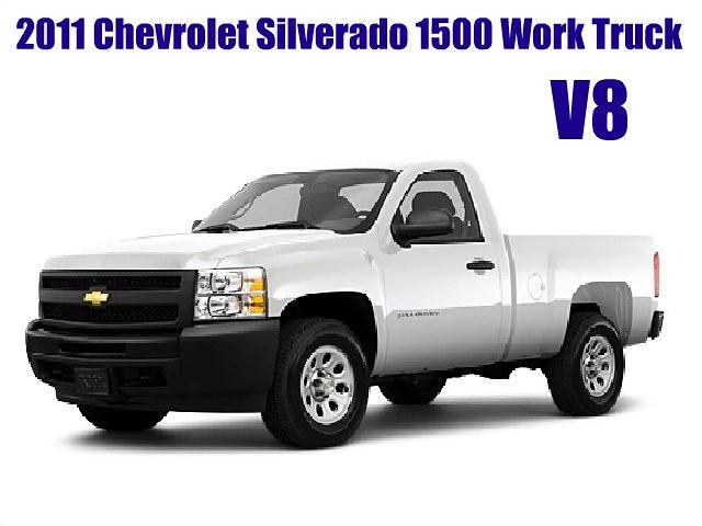 chevrolet truck work silverado 1500 v8 picnik 2wd 2011