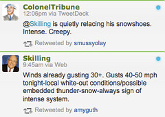 doing Twitter right (Andrew Huff) Tags: screenshot tomskilling twitter coloneltribune