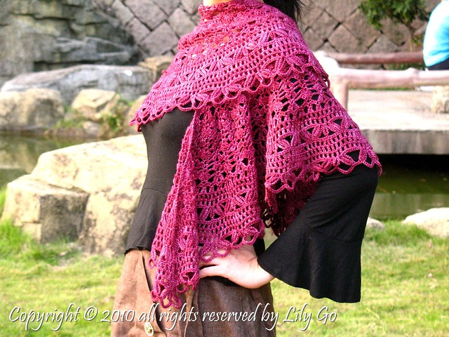 Alyssa's Shawl « Safety Boots and Crochet