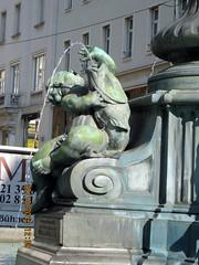 Detail, Donner Fountain in Neuer Markt square, Wien (Avocadoface) Tags: vienna fountain square austria sterreich brunnen wein neuermarkt donnerbrunnen donnerfountain georgraphael