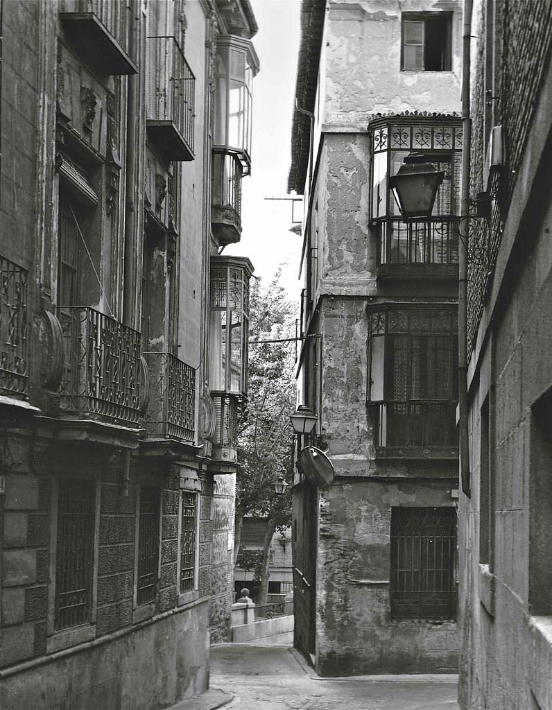 Calle de Navarro Ledesma en 1967. Fotografía de John Fyfe