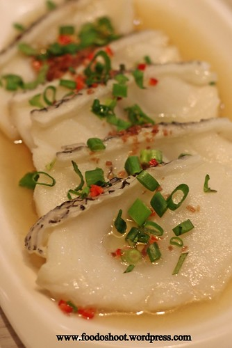 """Hua Niang"" Steamed Cod Fish"