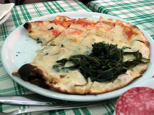 Pizza Margherita and Pizza Bianca
